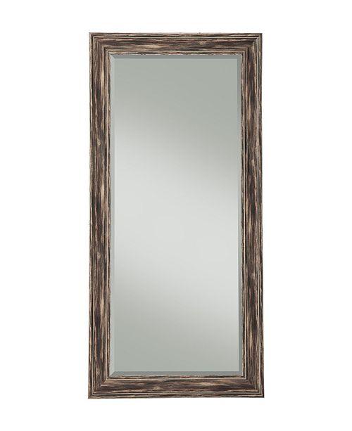 Martin Svensson Home Martin Svensson  Antique Black Farmhouse Full Length Leaner Mirror
