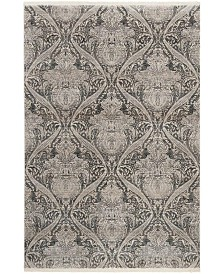 Safavieh Vintage Persian Gray and Charcoal 3' x 5' Area Rug
