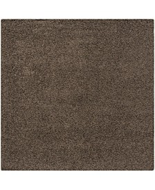 """Athens Taupe 6'7"""" x 6'7"""" Square Area Rug"""