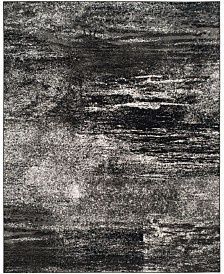 Safavieh Adirondack Silver and Black 8' x 10' Area Rug