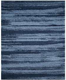 Safavieh Retro Light Blue and Blue 8' x 10' Area Rug