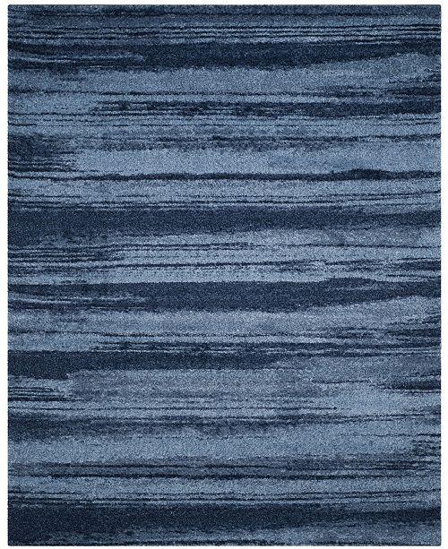 Safavieh Retro Light Blue and Blue 8' x 10' Area Rug