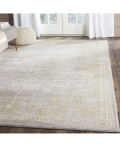 Safavieh Passion Gray and Green 8' x 11' Area Rug