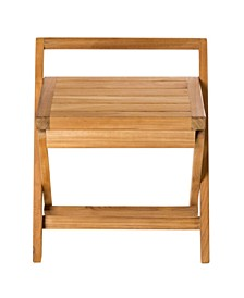 Folding Shower Bench with Handle