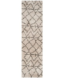 """Belize Taupe and Grey 2'3"""" x 9' Runner Area Rug"""