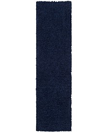 """Athens Navy 2'3"""" x 8' Runner Area Rug"""
