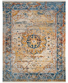 Vintage Persian Blue and Multi 8' x 10' Area Rug