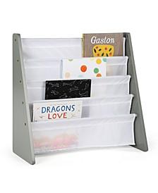 Wood Book Rack Storage Bookshelf