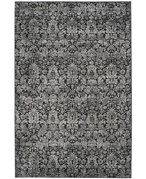 "Safavieh Vintage Black and Light Gray 5'1"" x 7'7"" Area Rug"