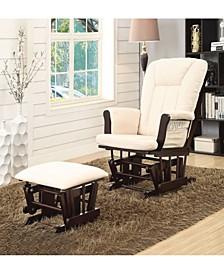Paola 2-Piece Glider Chair & Ottoman