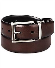 Men's Reversible Stretch Belt, Created for Macys