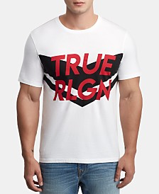 True Religion Men's Chevron Logo Graphic T-Shirt