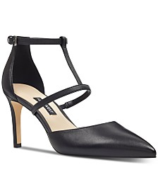 Nine West Cintia T-Strap Pumps