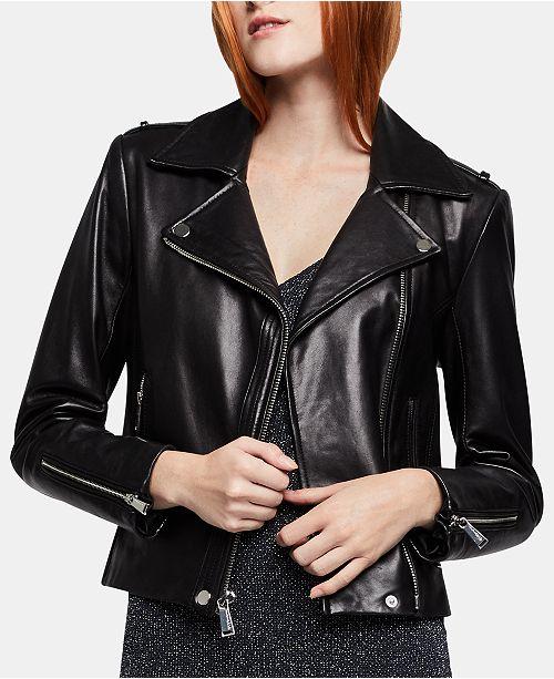 c59eb1b6dcfb BCBGeneration Leather Moto Jacket  BCBGeneration Leather Moto Jacket ...