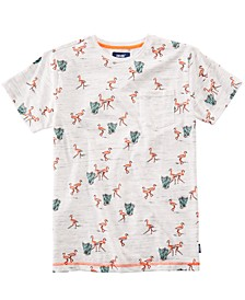 Big Boys Lowland Flamingo Pocket T-Shirt