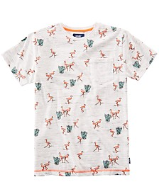 Univibe Big Boys Lowland Flamingo Pocket T-Shirt