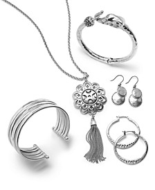 Silver-Tone Jewelry Separates