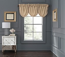 Waterford Abrielle Champagne Cascade Valance 3 Piece Set