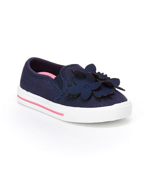 Carter's Toddler & Little Girls Desiree Floral Slip On Sneaker
