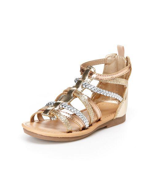 98cf5433c48 Carter s Toddler   Little Girls Fenna Gladiator Sandals   Reviews ...