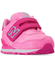 New Balance Toddler Girls' 515 Spring Canvas Casual Sneakers from Finish Line
