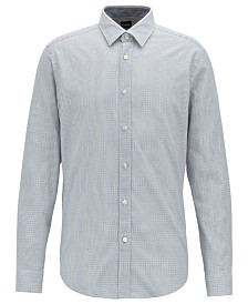 BOSS Men's Lukas Regular-Fit Cotton Shirt