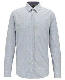 BOSS Men's Lukas Regular-Fit Cotton Shirt