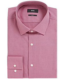 BOSS Men's Jenno Slim-Fit Cotton Shirt
