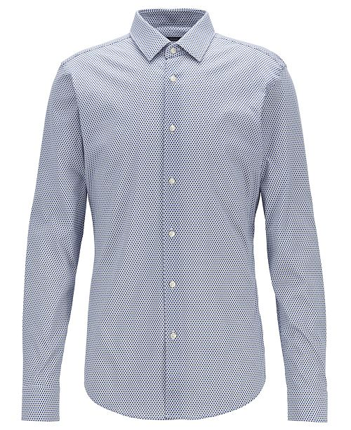 Hugo Boss BOSS Men's Isko Slim-Fit Cotton Shirt