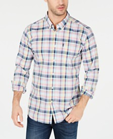Barbour Men's Tailored-Fit Madras Plaid Shirt