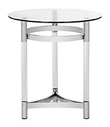 Letty Round Acrylic End Table