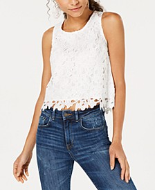 Cropped Lace Top, Created for Macy's