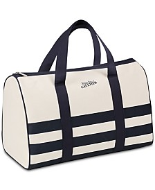 Receive a Complimentary Weekender Bag with any $73 purchase from the Jean Paul Gaultier Le Male Fragrance collection