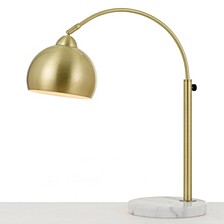 AF Lighting Orb Table Lamp with Metal Globe
