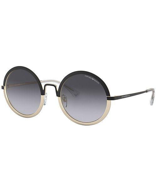 627005d7e8b5 Emporio Armani Sunglasses, EA2077 52 & Reviews - Sunglasses by ...