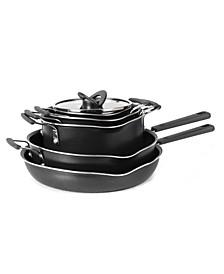 Stackables 10-Pc. Titanium Non-Stick Cookware Set