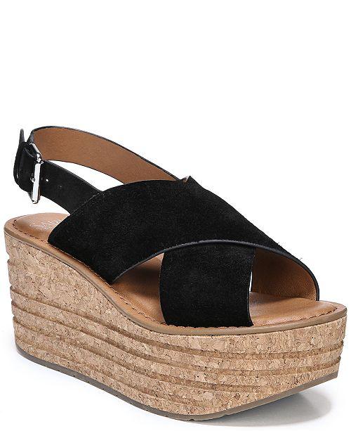 fdc38b0f66fd Franco Sarto Caroline Wedge Sandals & Reviews - Sandals & Flip Flops ...
