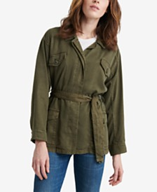 Lucky Brand Belted Utility Jacket