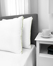 Firm Density Pillow with Cotton Cover, 2-Pack