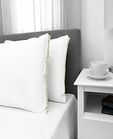 EcoPEDIC Firm Density Jumbo Pillow with Cotton Cover 2-Pack