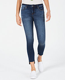 Kut from the Kloth Connie Skinny Step-Hem Ankle Jeans
