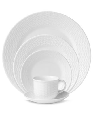 Dinnerware, Nantucket Basket 5 Piece Place Setting