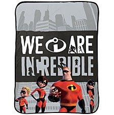 The Incredibles Racing Throw