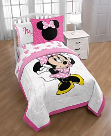 Disney Minnie Mouse XOXO Twin Comforter with Sham