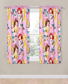 "Disney Princess Princess Sassy 63"" Drapes"