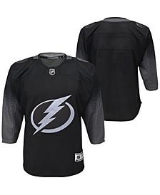 Big Boys Tampa Bay Lightning Alternate Blank Replica Jersey