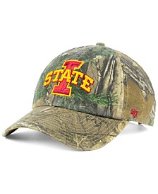 '47 Brand Iowa State Cyclones Real Tree CLEAN UP Cap