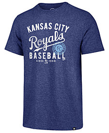 '47 Brand Men's Kansas City Royals Grandstand Triblend T-Shirt