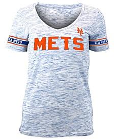 Women's New York Mets Space Dye T-Shirt