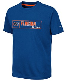 Colosseum Big Boys Florida Gators Boxed Logo Polyester T-Shirt